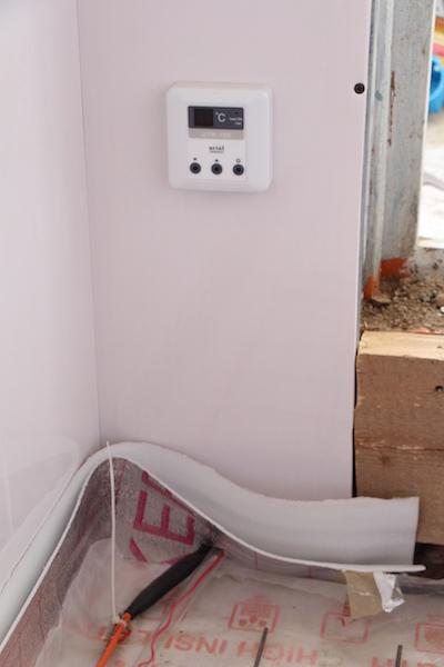 термостат электрический теплый пол