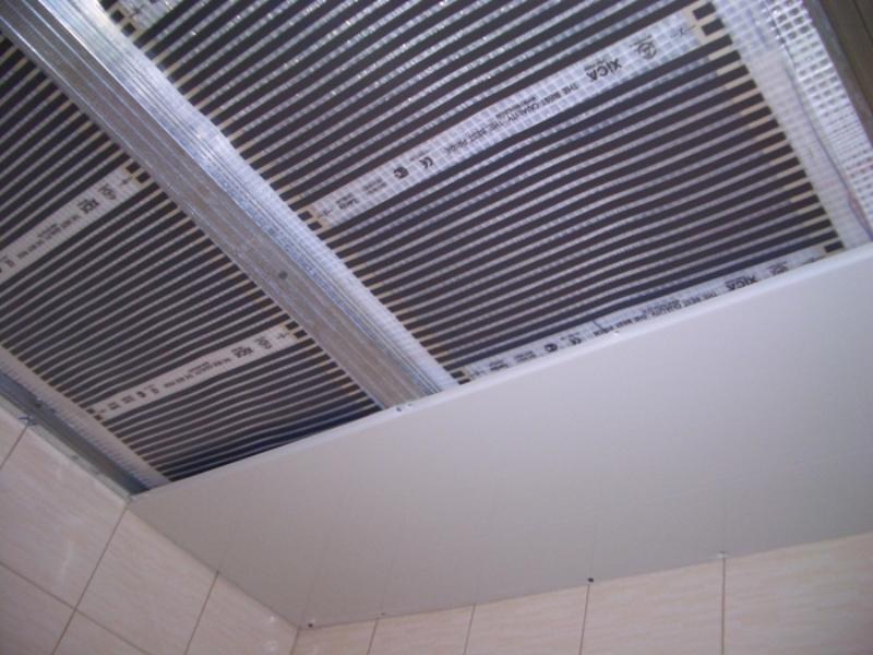 теплый потолок