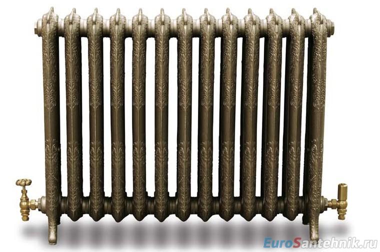 чугунный радиатор в стиле ретро