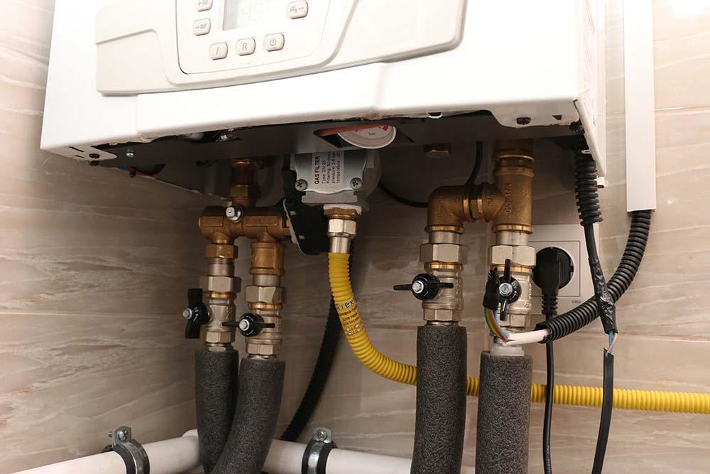 подключение газового котла baxi ecofour к бойлеру