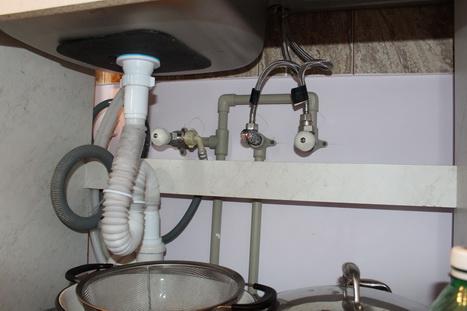 Подключение раковины и ванны к канализации своими руками