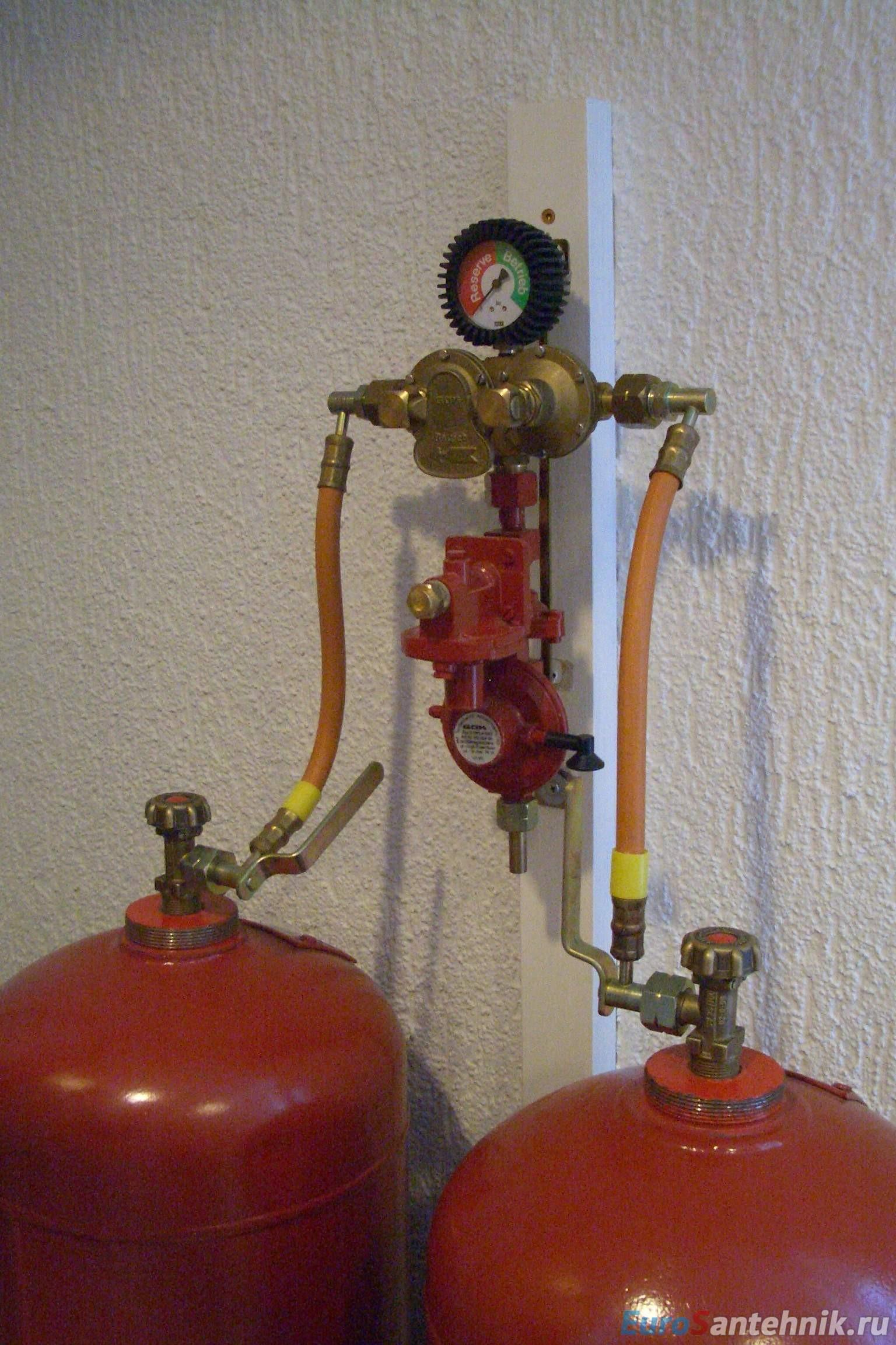 Отопление от газового баллона своими руками