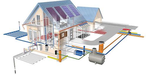 альтернативное отопление дома