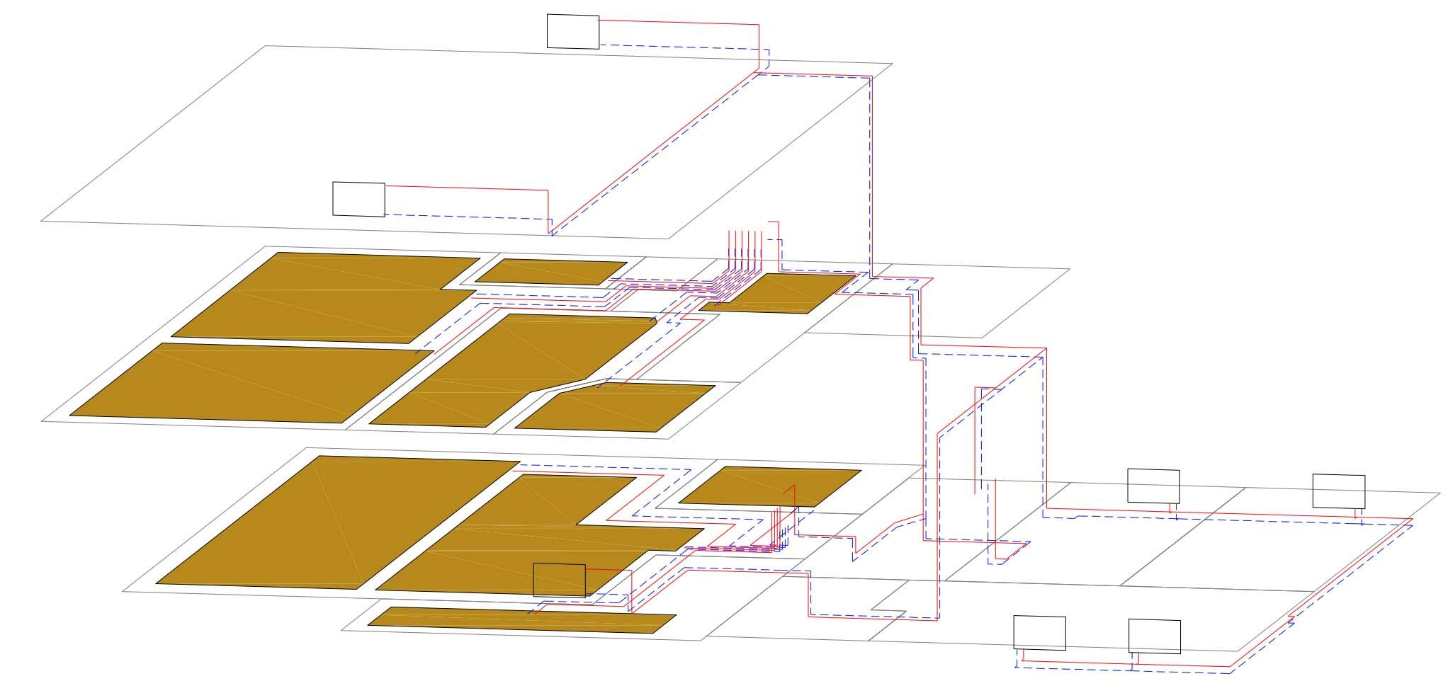 проект отопления дома