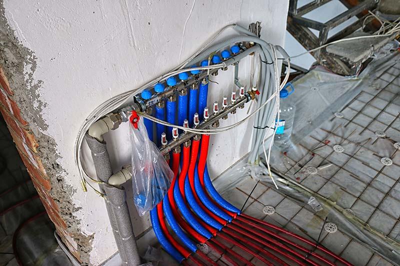 лучевая система отопления дома