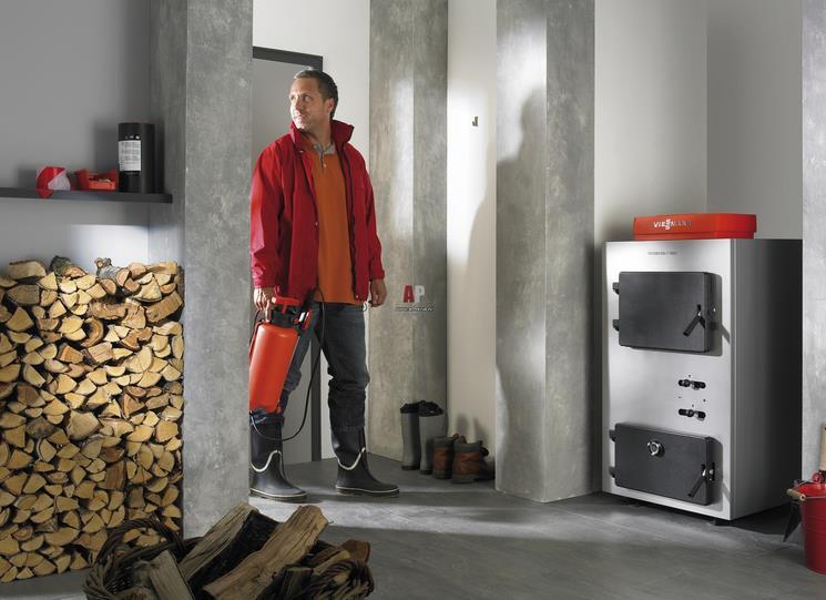 отопление дома дровянным котлом