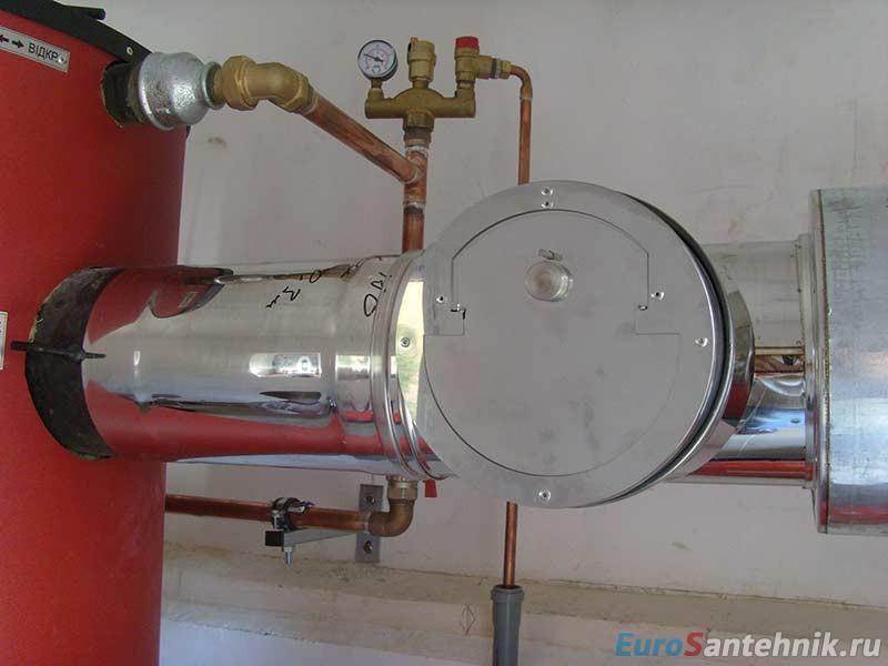 стабилизатор тяги дымохода