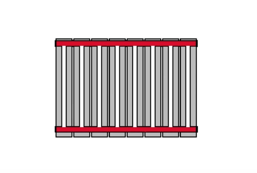 схема радиатора отопления