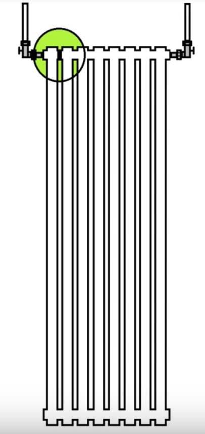 схема отопления радиаторов