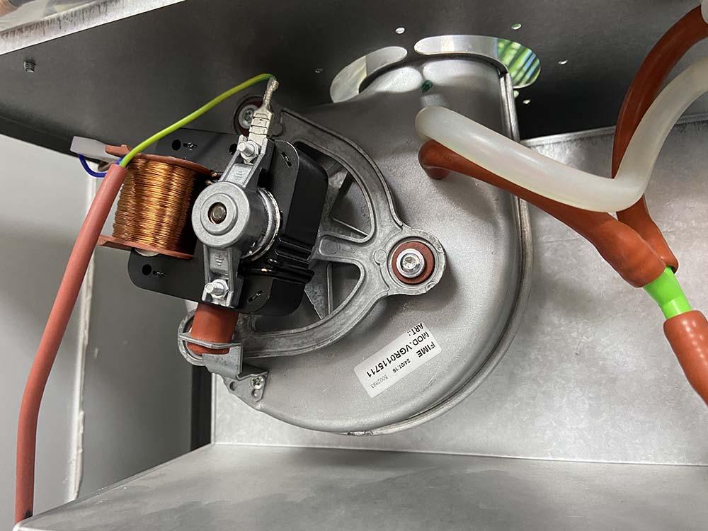 вентилятор турбина дымосос газового котла