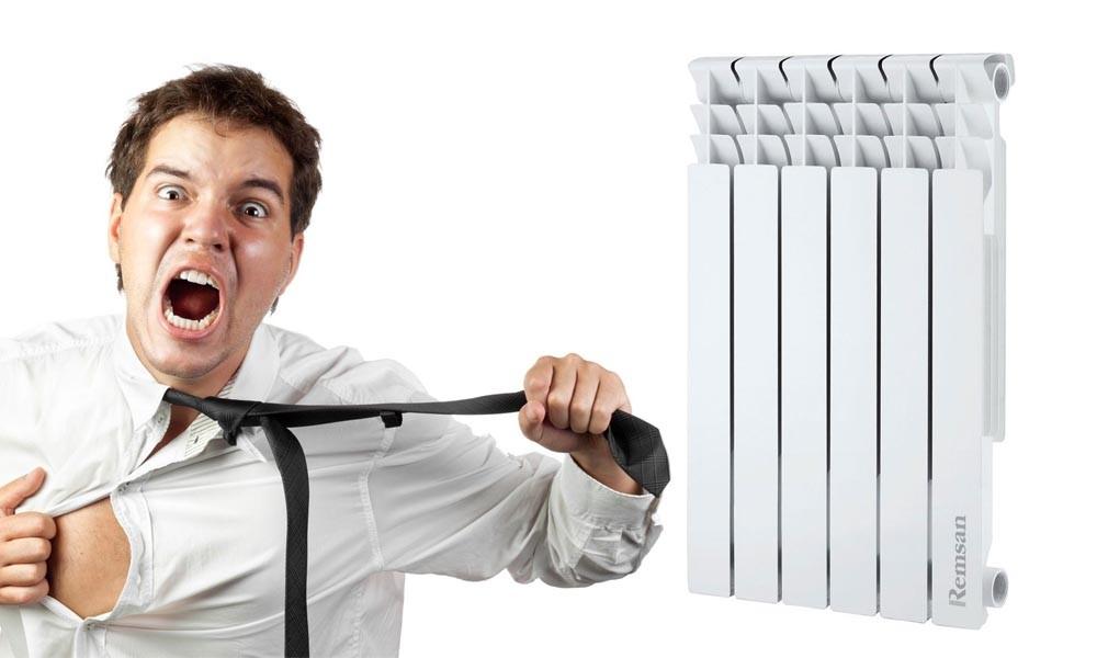 расчет объема радиатора отопления