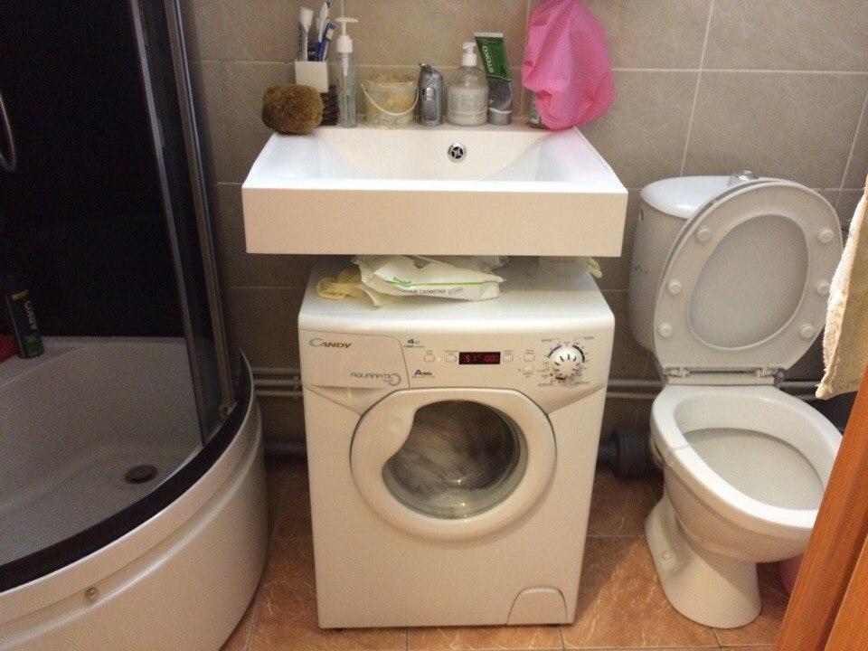 стиральная машинка под раковину candy