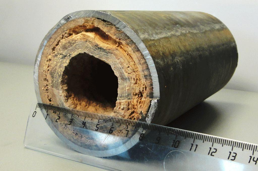накипь в трубах отопления