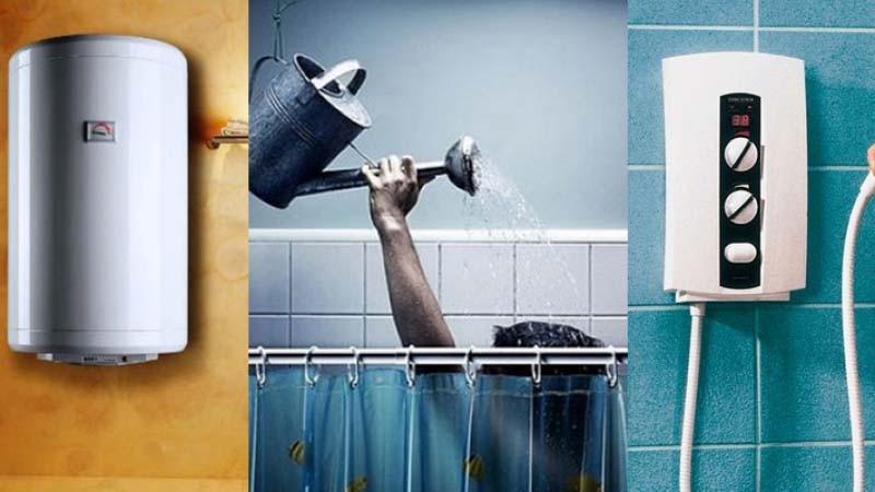 проточный водонагреватель или бойлер