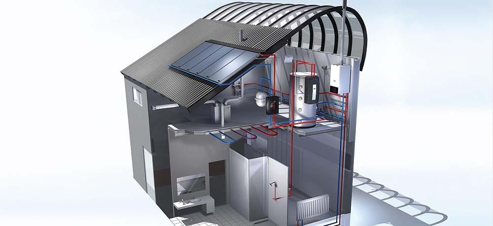 схемы разводки отопления