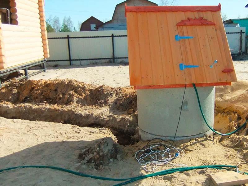 обустройство колодца для водоснабжения