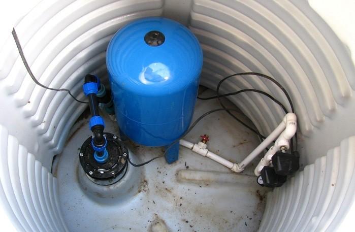 схема водоснабжения колодца с гидроаккумулятором