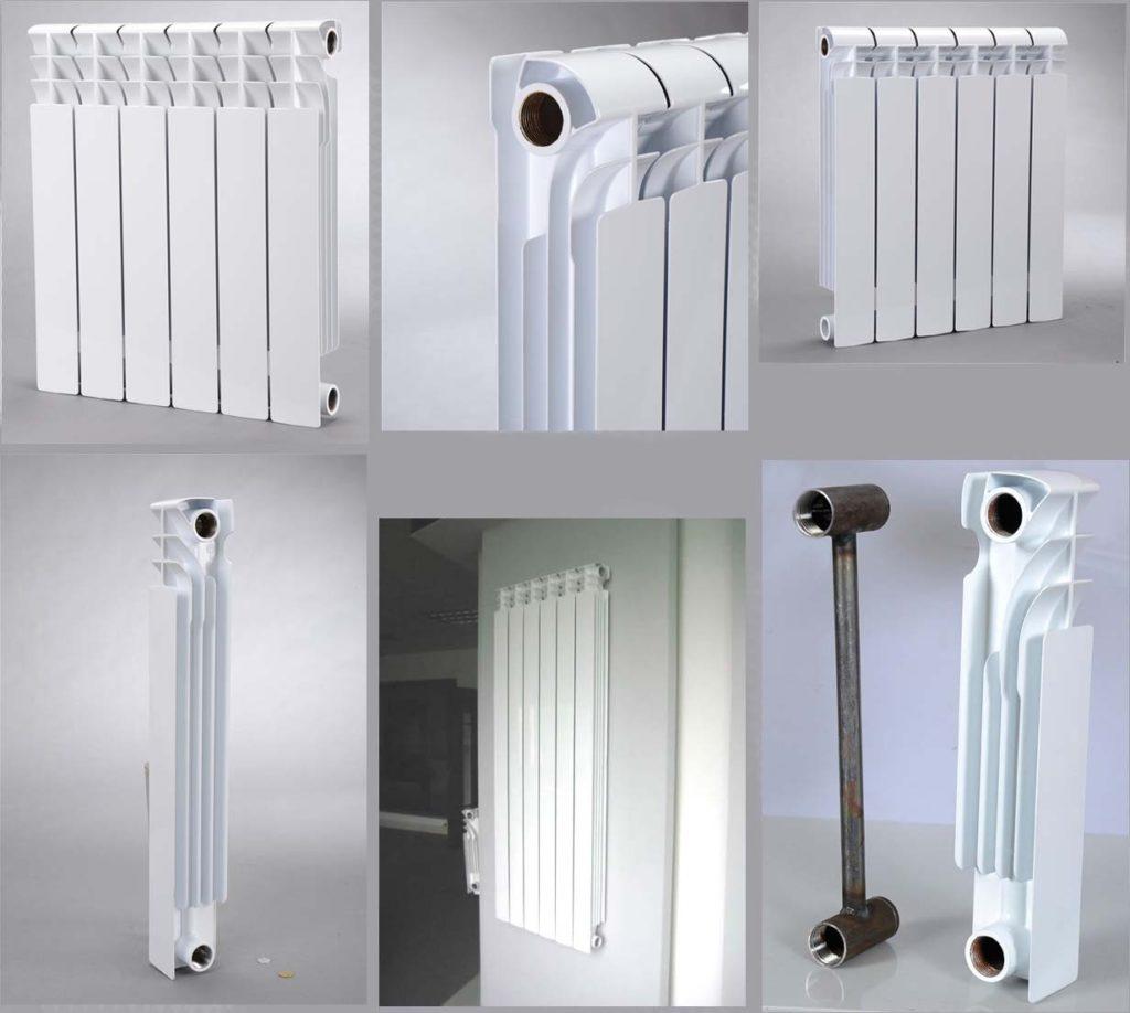 отличия алюминиевого радиатора от биметаллического