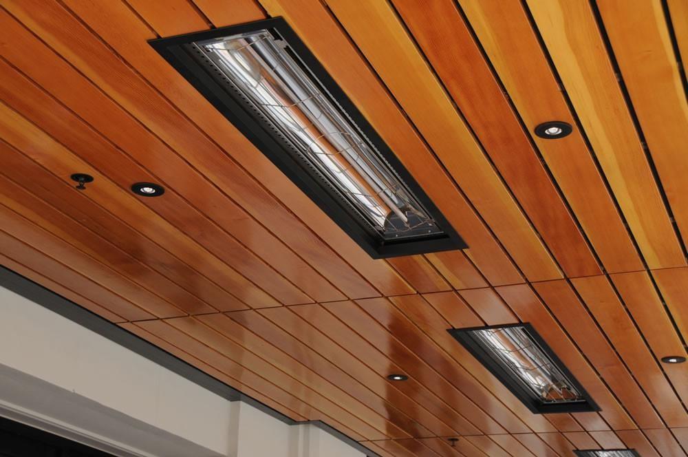 инфракрасное отопление потолочные нагреватели