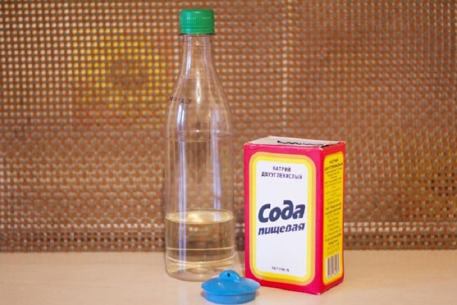 сода и уксус очистка канализации
