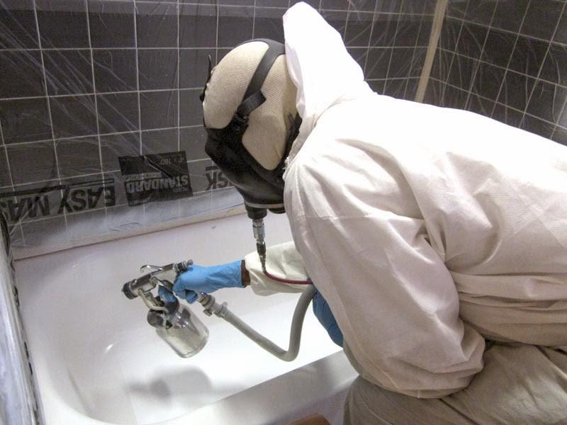 реставрация ванны аэрозоль
