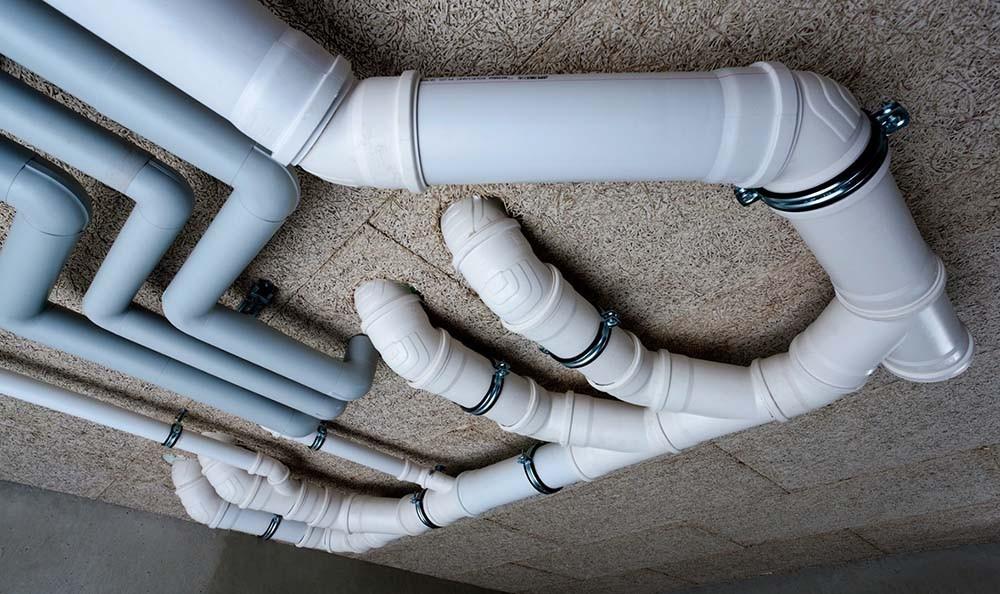 уклон трубы канализации в частом доме