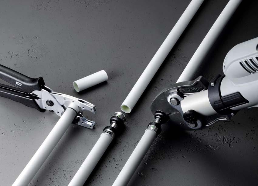 металлопластиковые трубы соединение