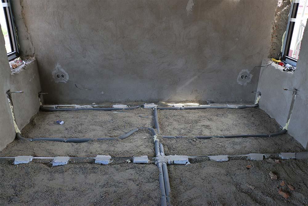 трубы отопления под стяжку