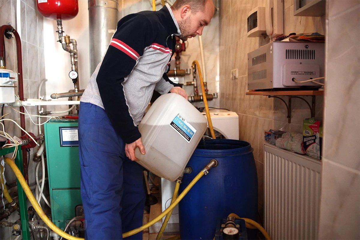подпитка заполнение системы отопления