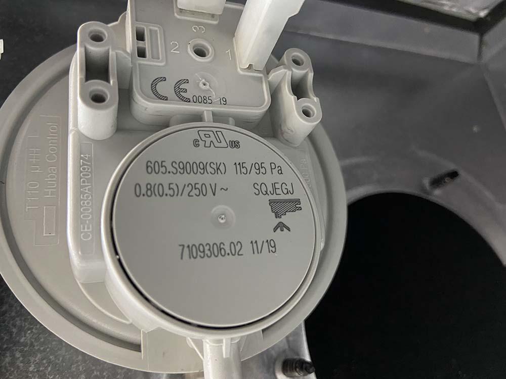 прессостат датчик тяги газовый котел